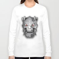 demon Long Sleeve T-shirts featuring Demon by Luca Giobbe