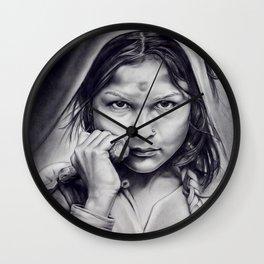 Little Old Death Wall Clock