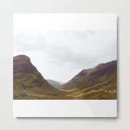 Into Loch Lomond and the Trossachs Metal Print