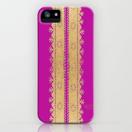 Traditional Dress - Pink  iPhone Case