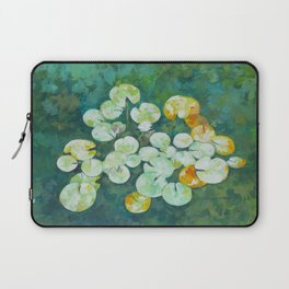 Tranquil lily pond Laptop Sleeve