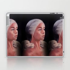 Mother Of Falcor oil on Canvas Laptop & iPad Skin