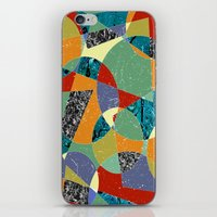 the 100 iPhone & iPod Skins featuring Abstract #100 by Ron Trickett