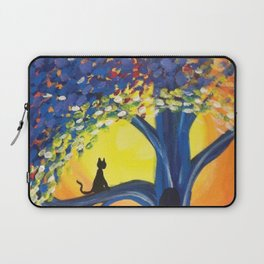 Kitties Love Sunsets Laptop Sleeve