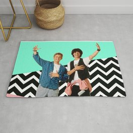 Bill and Ted Rug