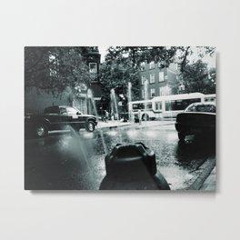 City Stream Metal Print