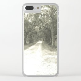 Old Road Clear iPhone Case