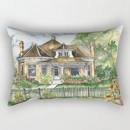 The House on Spring Lane Rectangular Pillow