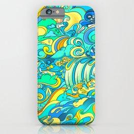 Cosmic Waterfall iPhone Case