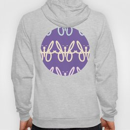 Abstract Butterfly Pattern  Hoody