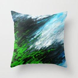 Greenlands Throw Pillow