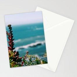 Seaside garden Stationery Cards