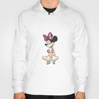 minaj Hoodies featuring Minnie Minaj by J. Neto