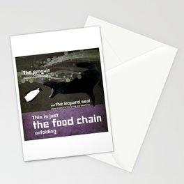 food chain 6 Stationery Cards