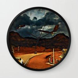 ROAD WARRIOR Wall Clock