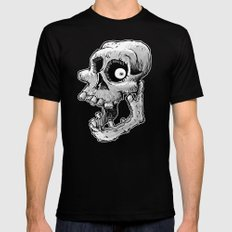 Bone head Black MEDIUM Mens Fitted Tee