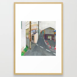 Nisja: tokyo 3 Framed Art Print
