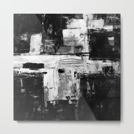Transcendental Composition No.1q by Kathy Morton Stanion Metal Print