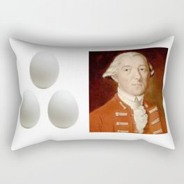 Eggs Benedict Rectangular Pillow
