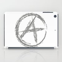 sons of anarchy iPad Cases featuring Anarchy by Collectivo 2