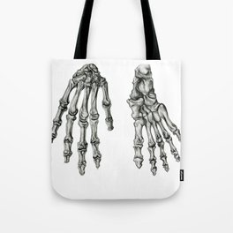 Hand & Foot Tote Bag
