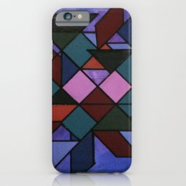 Tangram Art #3 iPhone Case