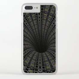 Solemn Drainage Clear iPhone Case