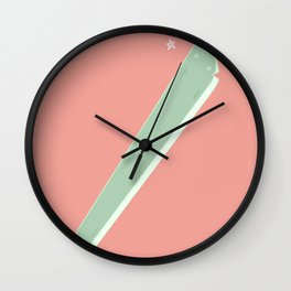 zing! sparkle sparkle Wall Clock