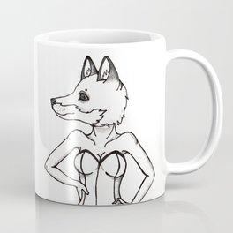 Foxy Pin Up Coffee Mug