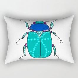 Mr Frost Beetle Rectangular Pillow