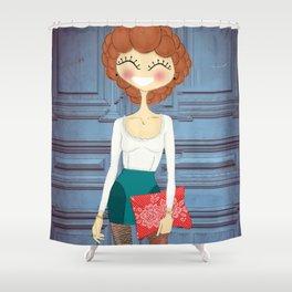 Bobo Shower Curtain