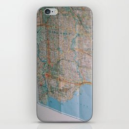 map iPhone Skin