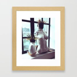 Lose Your Head Framed Art Print