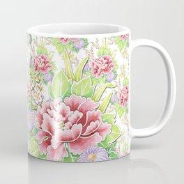 Kimono Summer Bouquet Coffee Mug