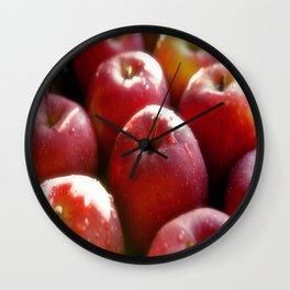 Sweet red Apple Wall Clock