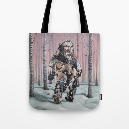 Catsquatch II Tote Bag