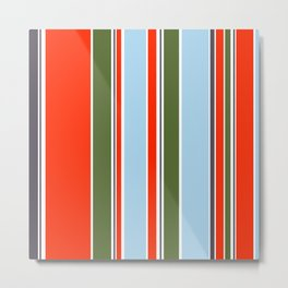 Simply stripes II Metal Print