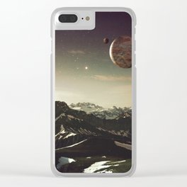 Dream Planet Clear iPhone Case