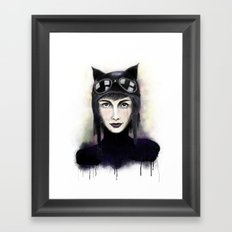 Catwoman #1 Framed Art Print