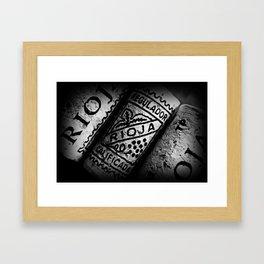 Rioja Framed Art Print