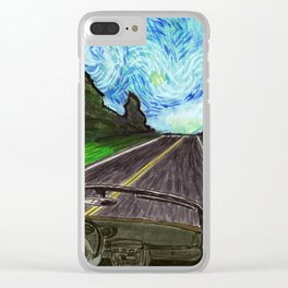 Scenic Drive Clear iPhone Case