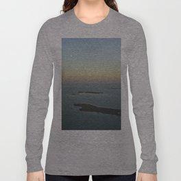 Flying Over San Pedro Long Sleeve T-shirt