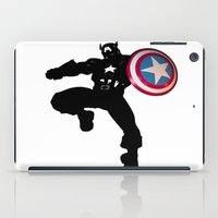 captain silva iPad Cases featuring Captain by Crayle Vanest