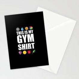 Gym Stationery Cards