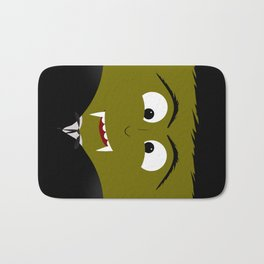 Cute Count Dracula Vampire Bath Mat