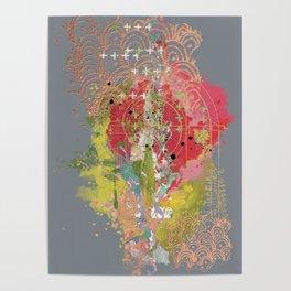The modern garden Poster