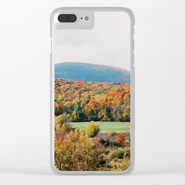 Vermont Views - 35mm Film Clear iPhone Case
