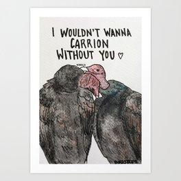 Bird no. 138: Nibble Art Print