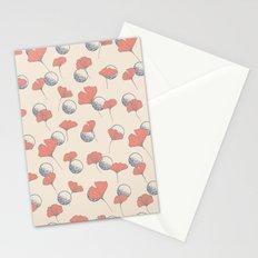 Delicate Ginkgo&Dots #society6 #decor #buyart Stationery Cards