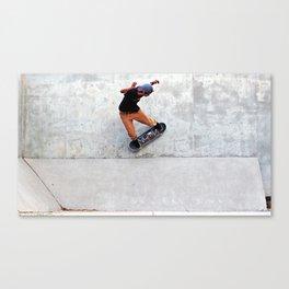 Wallride Canvas Print